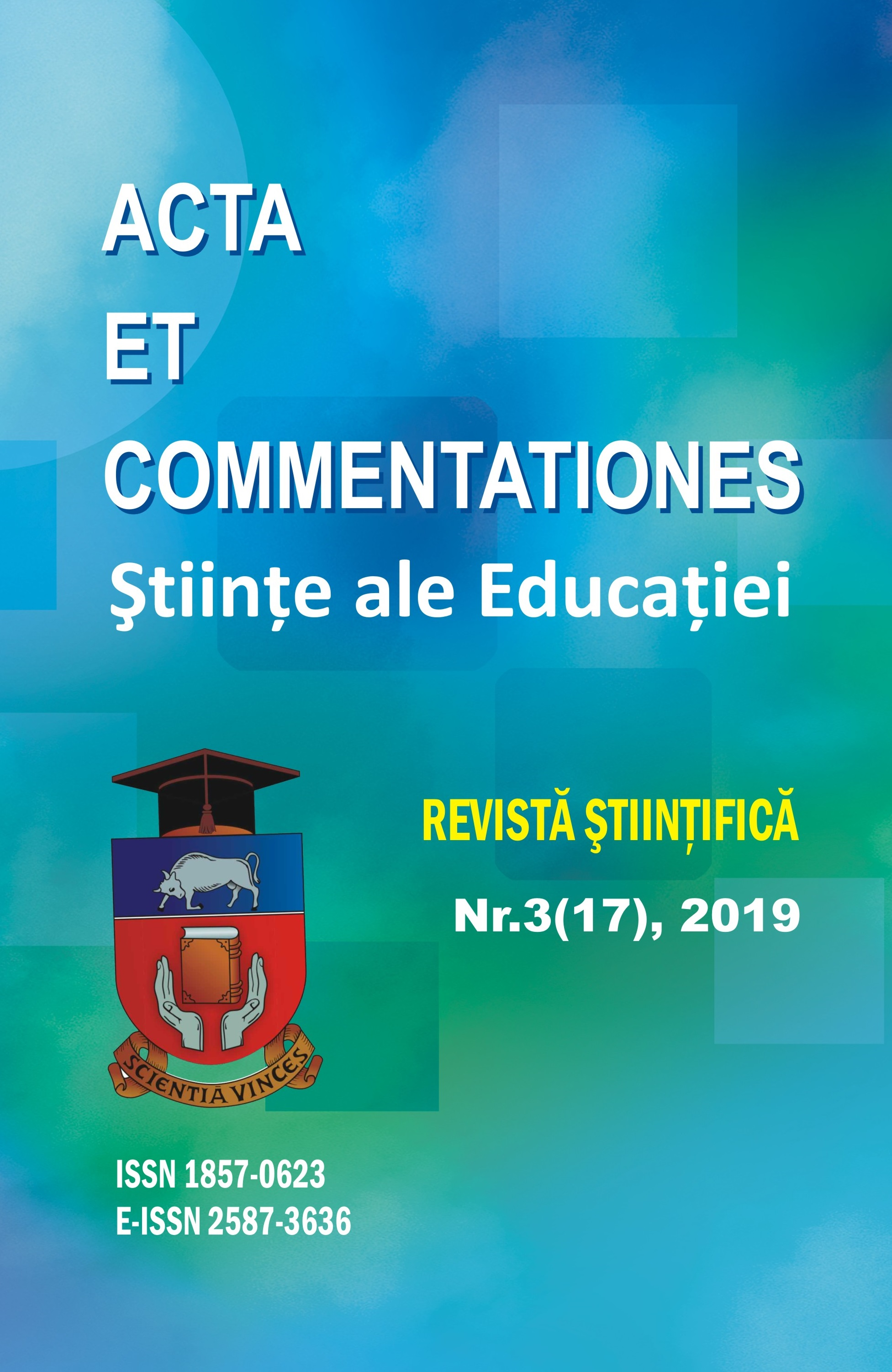 Acta et Commentationes Sciences of Education